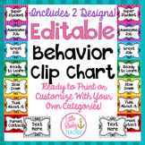 Editable Behavior Clip Chart