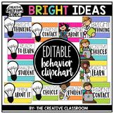 Editable Behavior Clip Chart - Bright Ideas