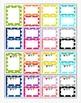 Behavior Clip Chart - Rainbow Polka Dot -Large Set- 15 Colors - Editable