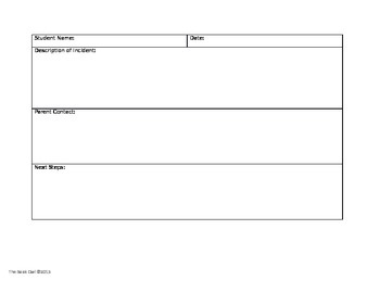 Editable Behavior Documentation Forms