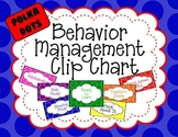 Editable Behavior Management Clip Chart - Large Polka Dots