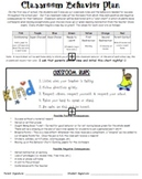 Editable Behavior Plan (Word)