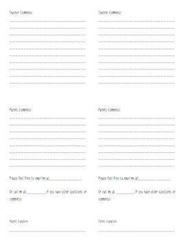 (Editable) Behavior Reflection Sheet