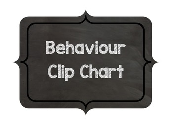 Editable Behaviour Clip Chart
