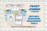 Editable Behaviour Management Tools (Fidget spinner-themed)