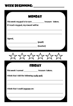 Editable Behaviour Management Tools (Pirate-themed)