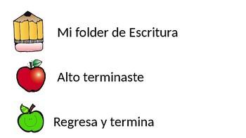 Editable Bilingual Writing Folder