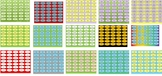 Editable Binder Clip Labels - Bundle