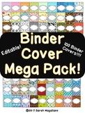 Editable Binder Cover Mega Pack