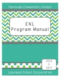 Editable Binder Cover - Seafoam & Spring Green: Chevron &