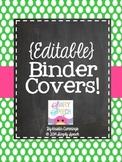 Editable Binder Covers!