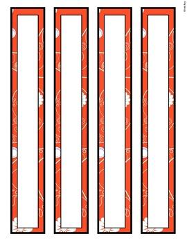Editable Binder Covers Floral