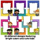 Editable Binder Covers - Colorful Kids