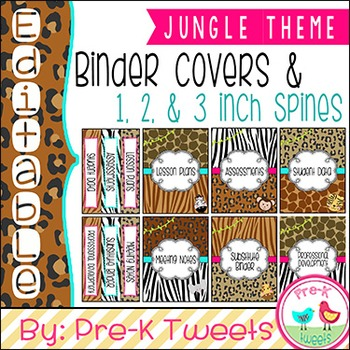 Jungle Binder Covers