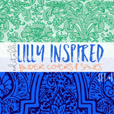 Editable Binder Covers ( Lilly Inspired Set 1 )