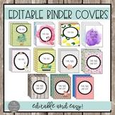 Editable Binder Covers MEGA SET!