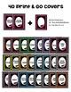 Editable Binder Covers * Editable Polka Dot Theme