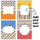 Editable Binder Covers - Primary Rainbow
