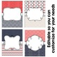 Editable Binder Covers - Red, Beige, & Blue