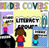 FREEBIE Editable Binder Covers and Spines