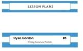 Classroom Decor Editable Binder Spine - Striped