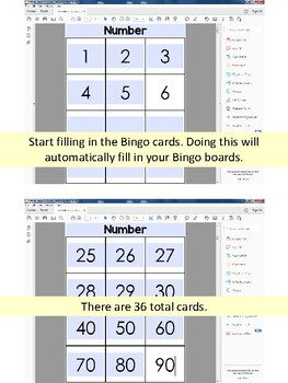 editable bingo game template by erin thomson s primary printables