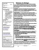 Syllabus-Biology, editable