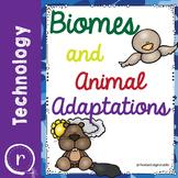 Editable Biomes and Animal Adaptations with Google Earth Tour STEM