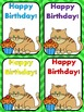 Editable Birthday Cards for Students