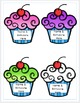 Editable Birthday Cupcakes for your Classroom Calendar