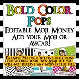 Editable Bitmoji Class Economy - Moji Money! - Add your own Bitmoji and text