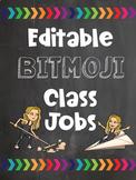 Editable Bitmoji Classroom Jobs