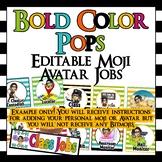 Editable Classroom Jobs Set - Add your own Moji Avatar and Jobs!