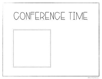 Editable Bitmoji Conference Slides