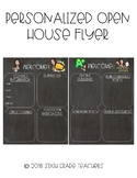 Editable Bitmoji Open House Flyer