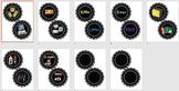 Editable Black Labels (pictures)
