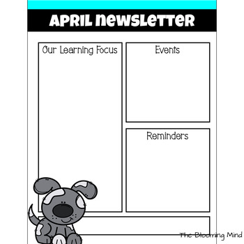 Editable Black and White Calendars