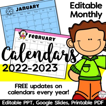 Editable Calendar and Newsletters