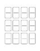 Editable Blank Dominos