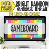Editable Blank Gameboard Template Theme Google Slides Brig