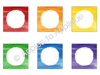 Editable Blank Labels in Rainbow Theme
