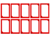 Editable Blank Uno Cards