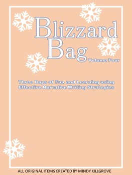 Editable Blizzard Bag (Volume Four: Narrative Essays)
