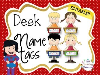 Editable Blue Jay Mascot Name Plates
