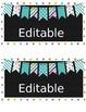 15 qt Editable Labels - blue