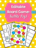 Editable Board Game: Bubble Pop