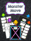 Editable Board Game: Monster Move
