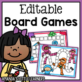 Editable Board Game Templates - Sight Words