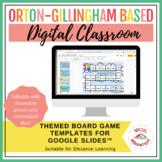 Editable Board Game Templates for Google Slides™ | Distanc