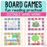 Editable Board Games for Every Season